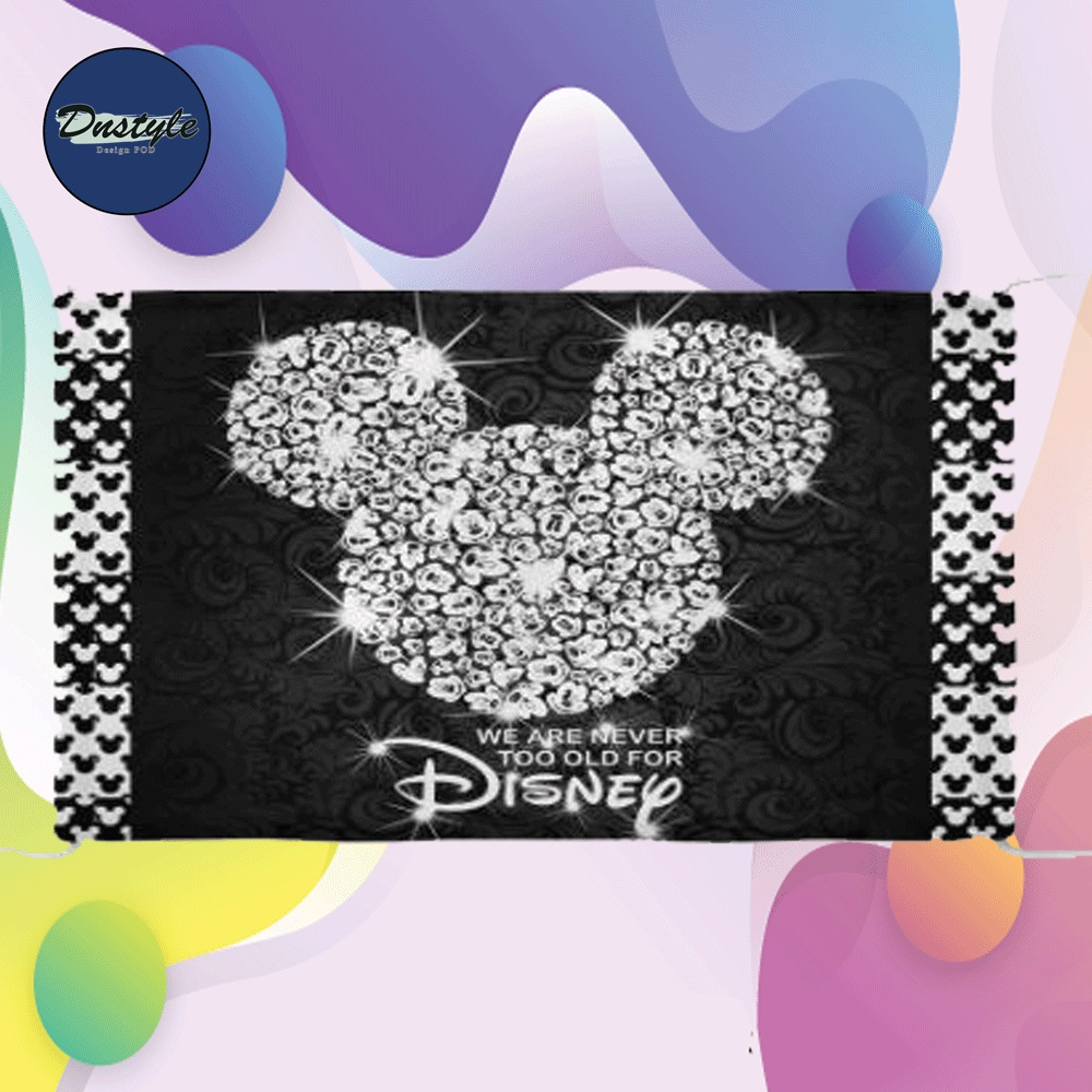 Mickey mouse we are never too old for Disney cloth face mask