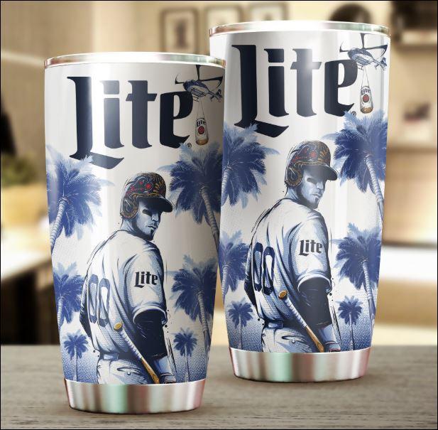 Miller Lite Dodgers tumbler