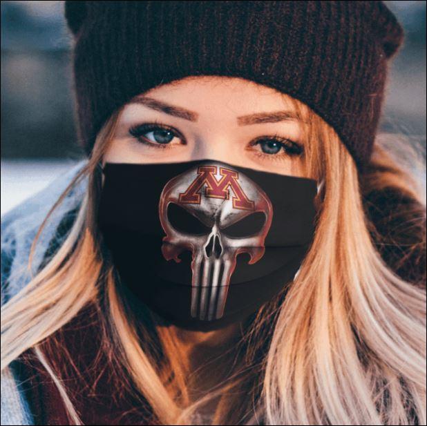 Minnesota Golden Gophers The Punisher face mask
