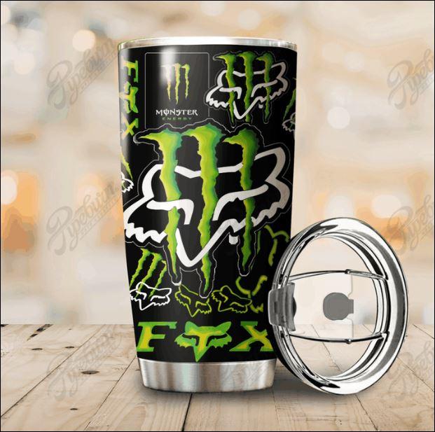 Monster Energy Fox Racing tumbler