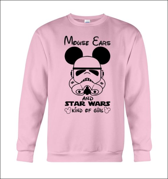 Mouse ears and Star Wars kind of girl sweater