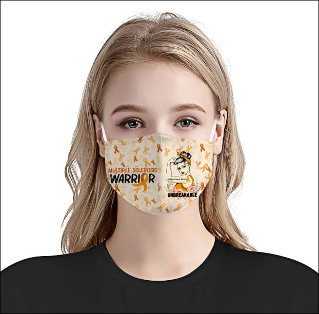 Multiple Sclerosis Awareness face mask