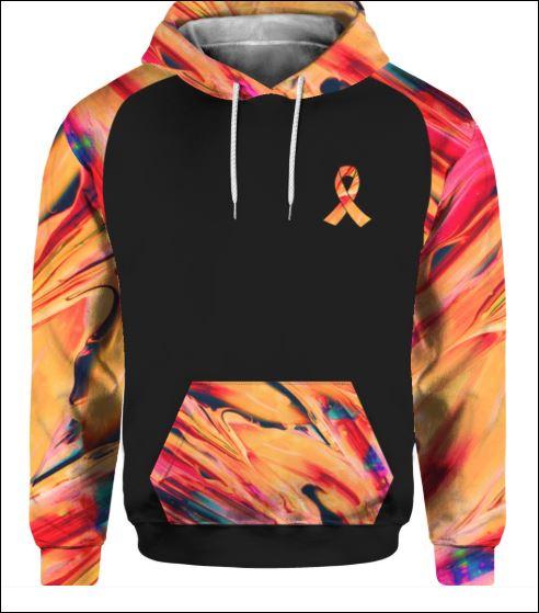 Multiple sclerosis awareness i don't look sick 3D hoodie