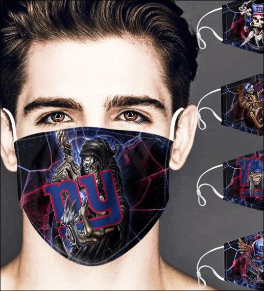 New York Giants skull face mask