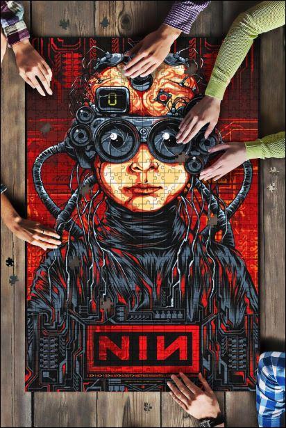 Nine Inch Nails Jigsaw Puzzle
