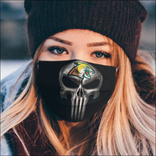Northern Michigan Wildcats The Punisher face mask