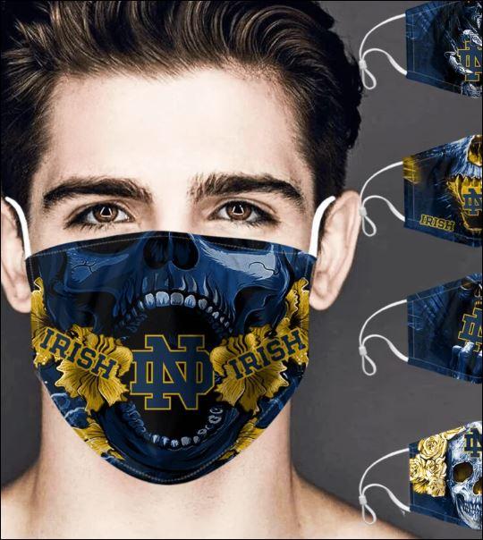 Notre Dame Fighting Irish skull face mask