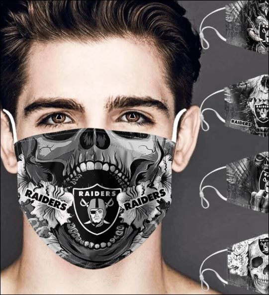 Oakland Raiders skull face mask