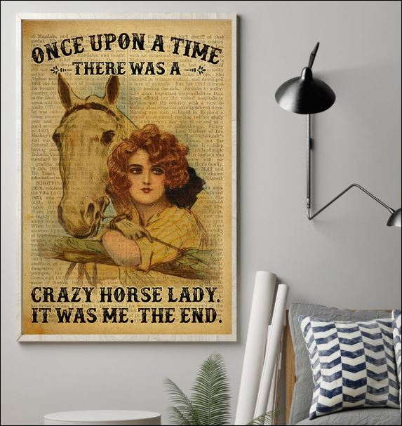 Once upon a time there was a crazy horse lady it was me the end poster 1
