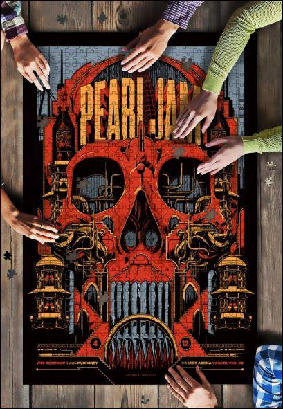 Pearl Jam Jigsaw Puzzle