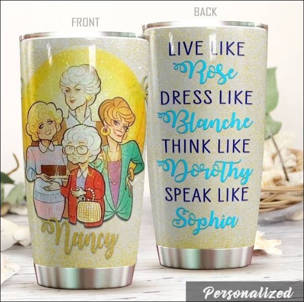 Personalized the Golden Girls tumbler