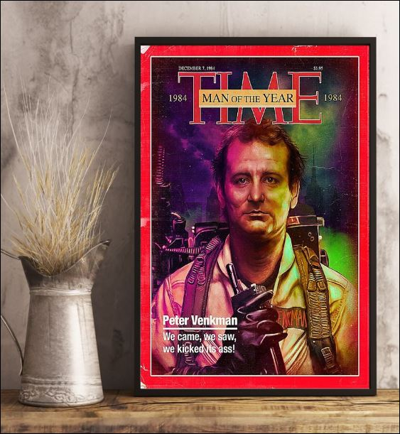 Peter Venkman time man of the year poster 3