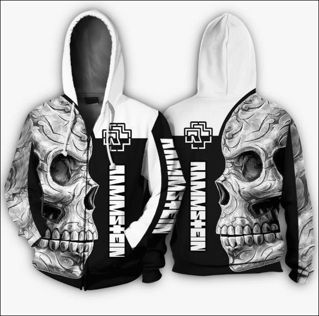 Rammstein 3D zip hoodie
