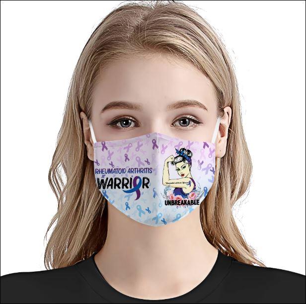 Rheumatoid Arthritis Awareness face mask