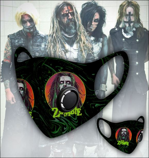 Rob Zombie filter activated carbon face mask 1