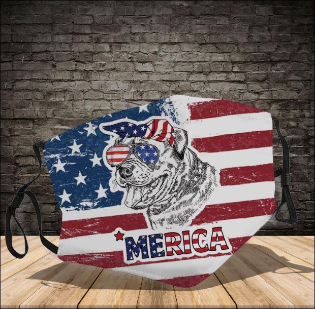 Rottweiler America face mask