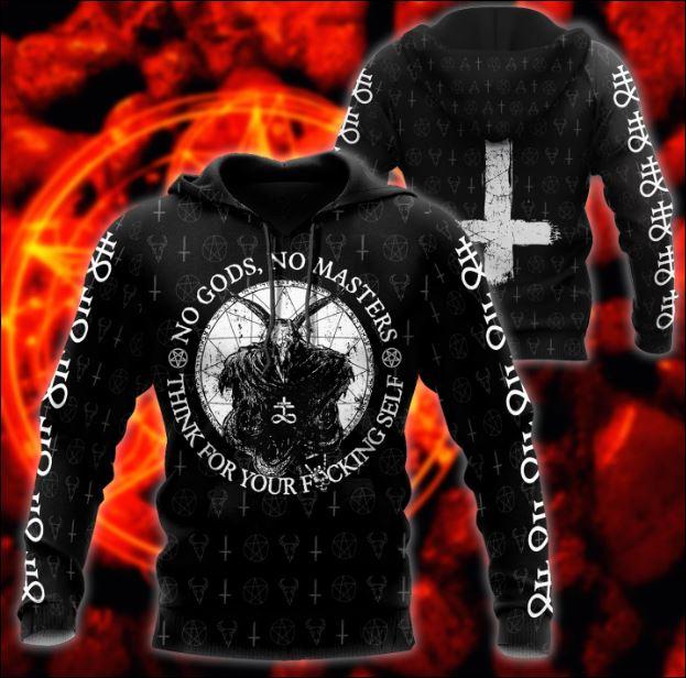 Satanic Tribal 3D hoodie