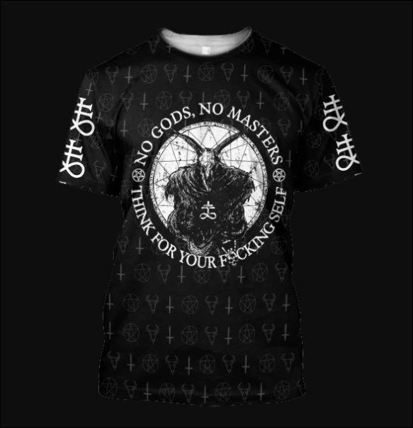 Satanic Tribal 3D shirt