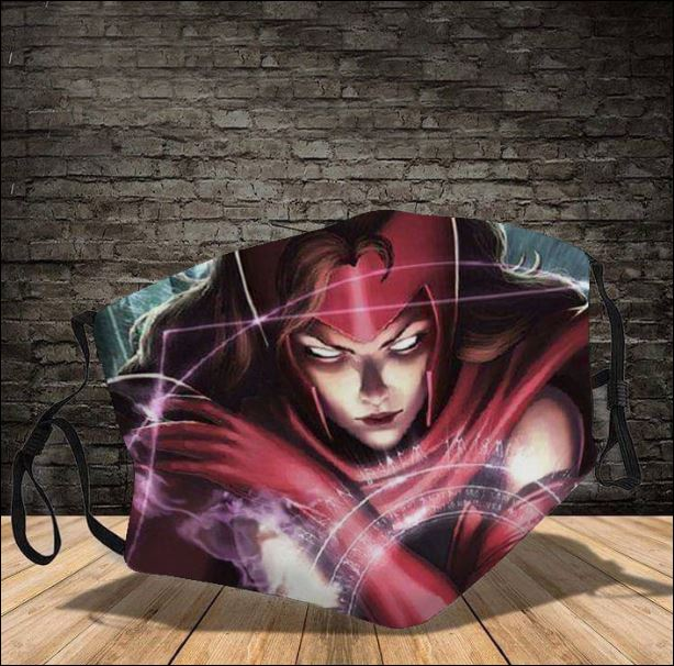 Scarlet Witch face mask