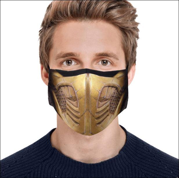 Scorpion Mortal Kombat face mask