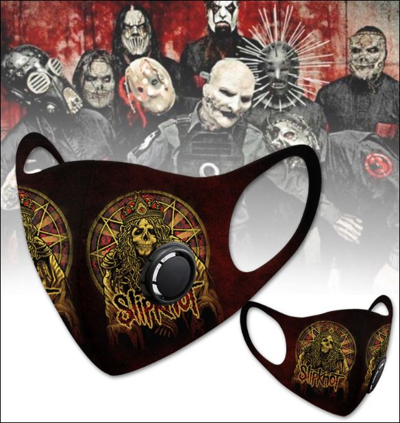 Slipknot filter activated carbon face mask 1