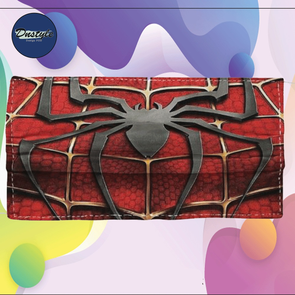 Spider man cloth face mask