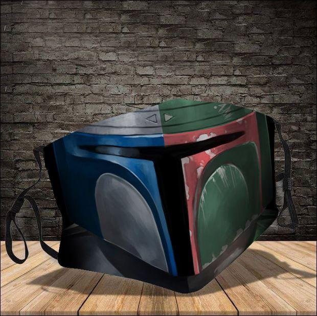 Star Wars Boba Fett face mask
