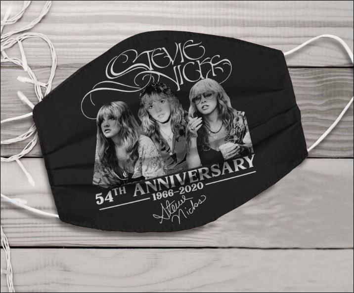 Stevie Nicks 54th anniversary face mask