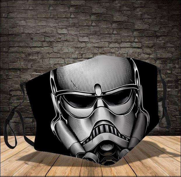 Stormtrooper Star Wars face mask