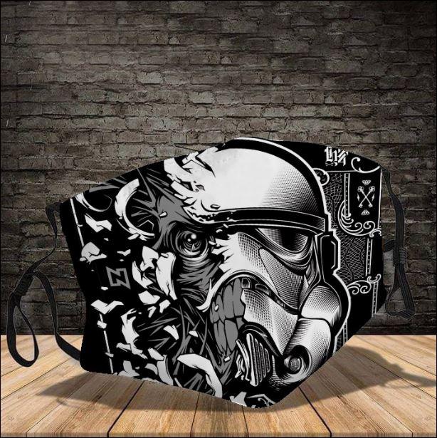 Stormtrooper ghost Star Wars face mask