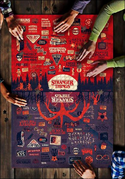 Stranger Things Jigsaw Puzzle