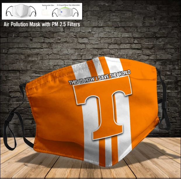 Tennessee Volunteers face mask