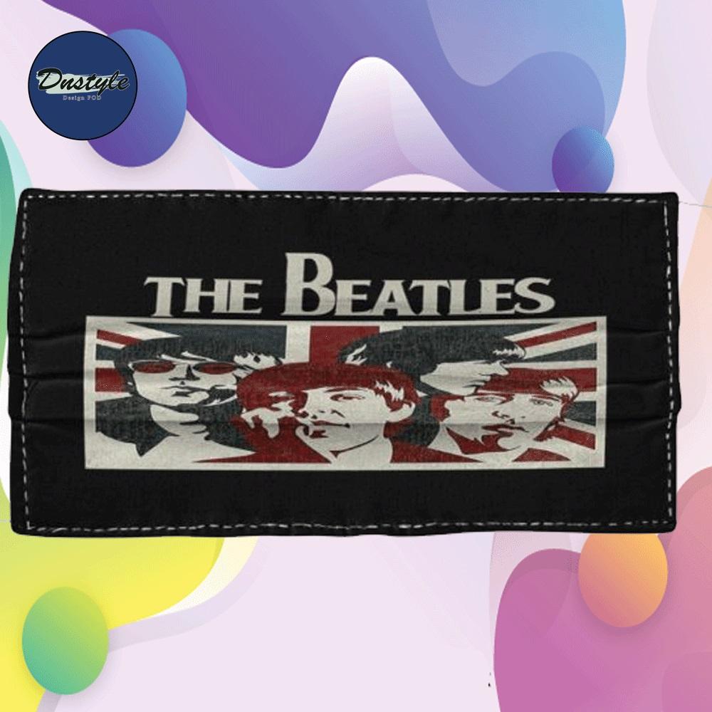 The Beatles England flag cloth face mask