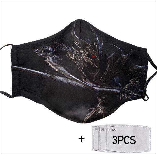 The Elder Scrolls face mask