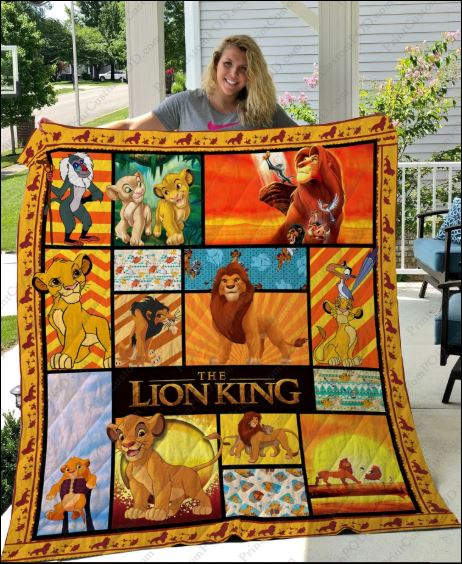 The Lion King 3D quilt