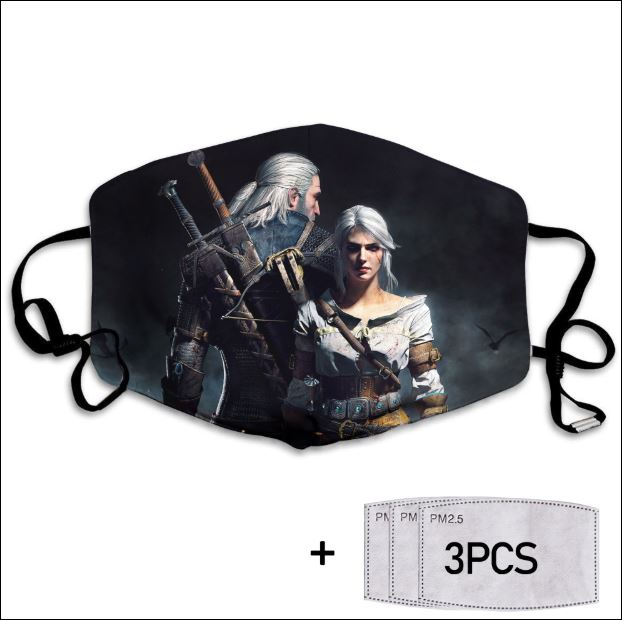 The Witcher game face mask