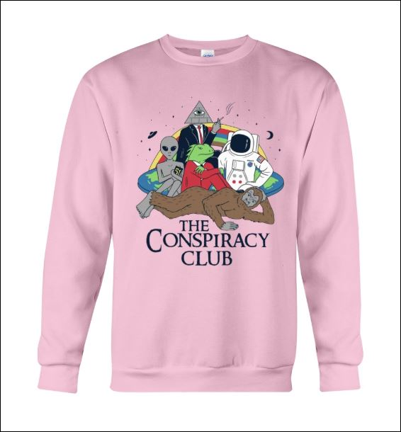 The conspiracy club sweater