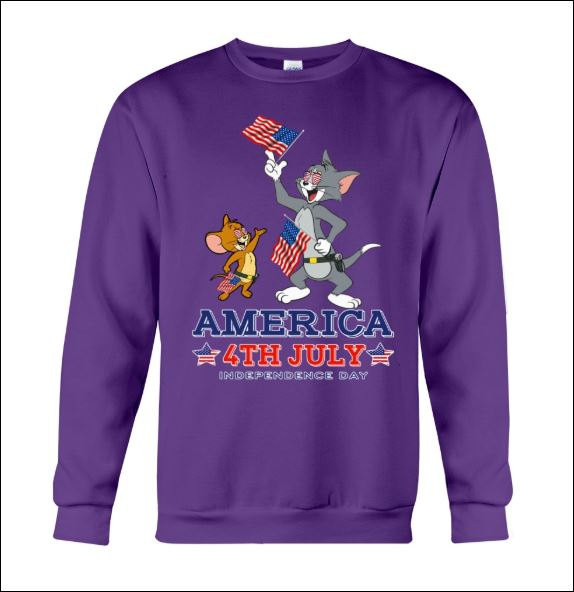 Tom and Jerry America 4th July sweater