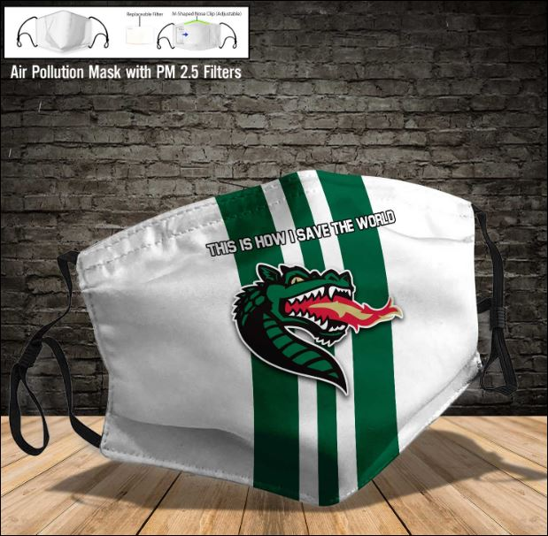 Uab Blazers face mask
