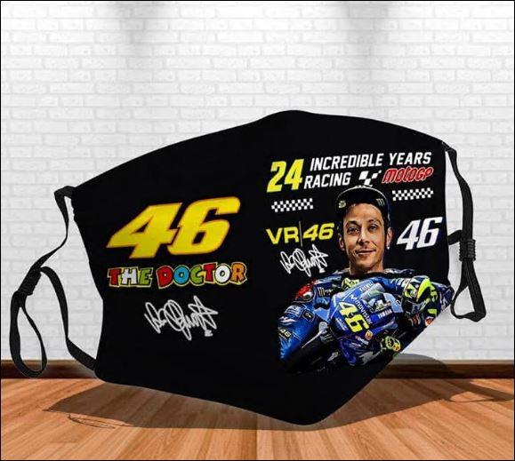 Valentino Rossi 46 face mask