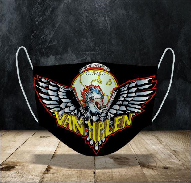 Van Halen face mask