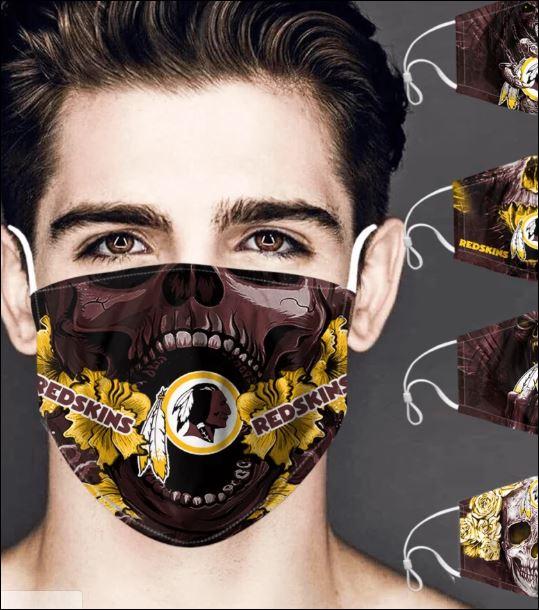 Washington Redskins skull face mask