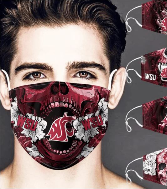 Washington State Cougars skull face mask