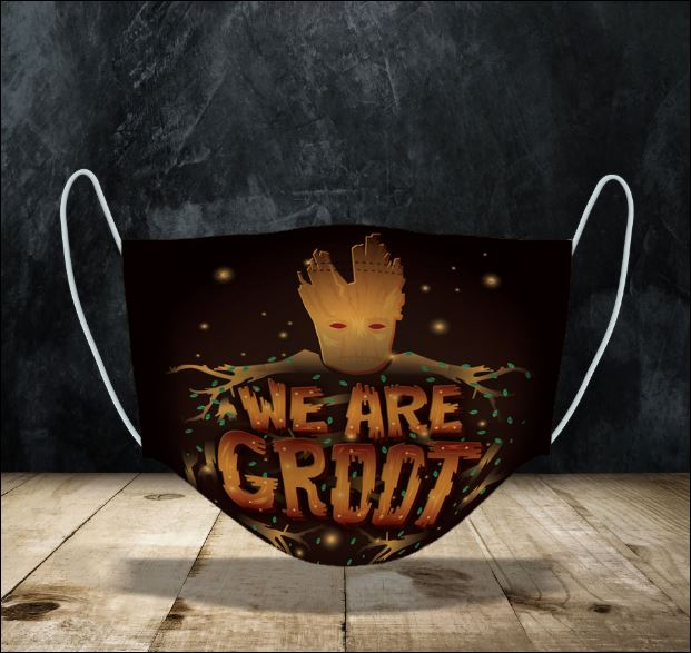 We Are Groot face mask