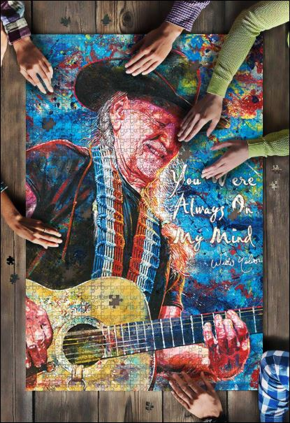 Willie Nelson Jigsaw Puzzle
