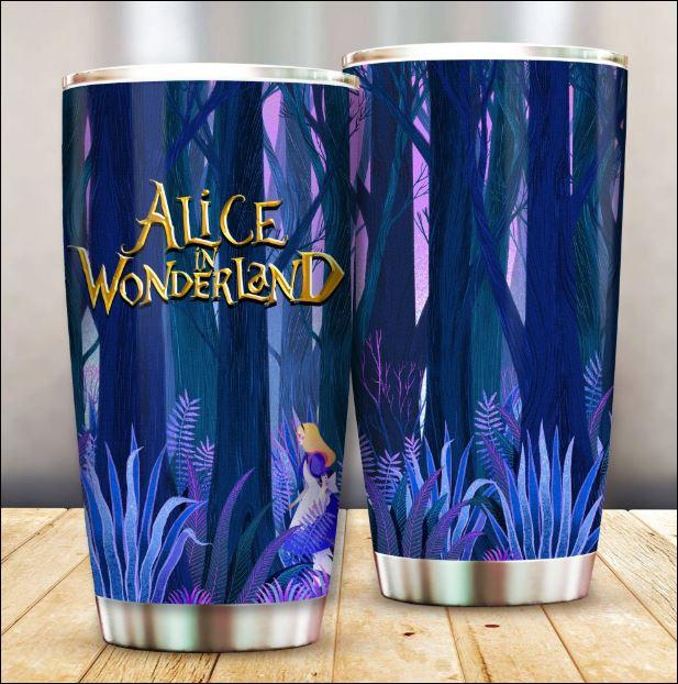 Alice in Wonderland tumbler