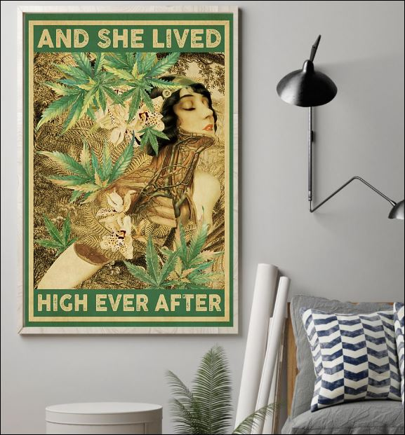 And she lived high ever after poster 1
