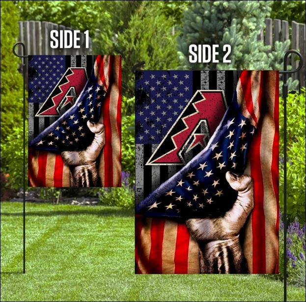 Arizona Diamondbacks American flag