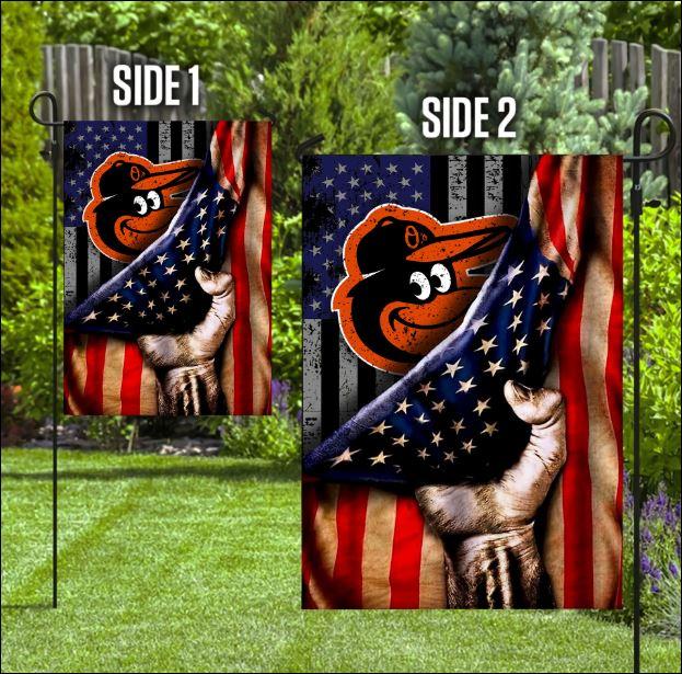 Baltimore Orioles American flag