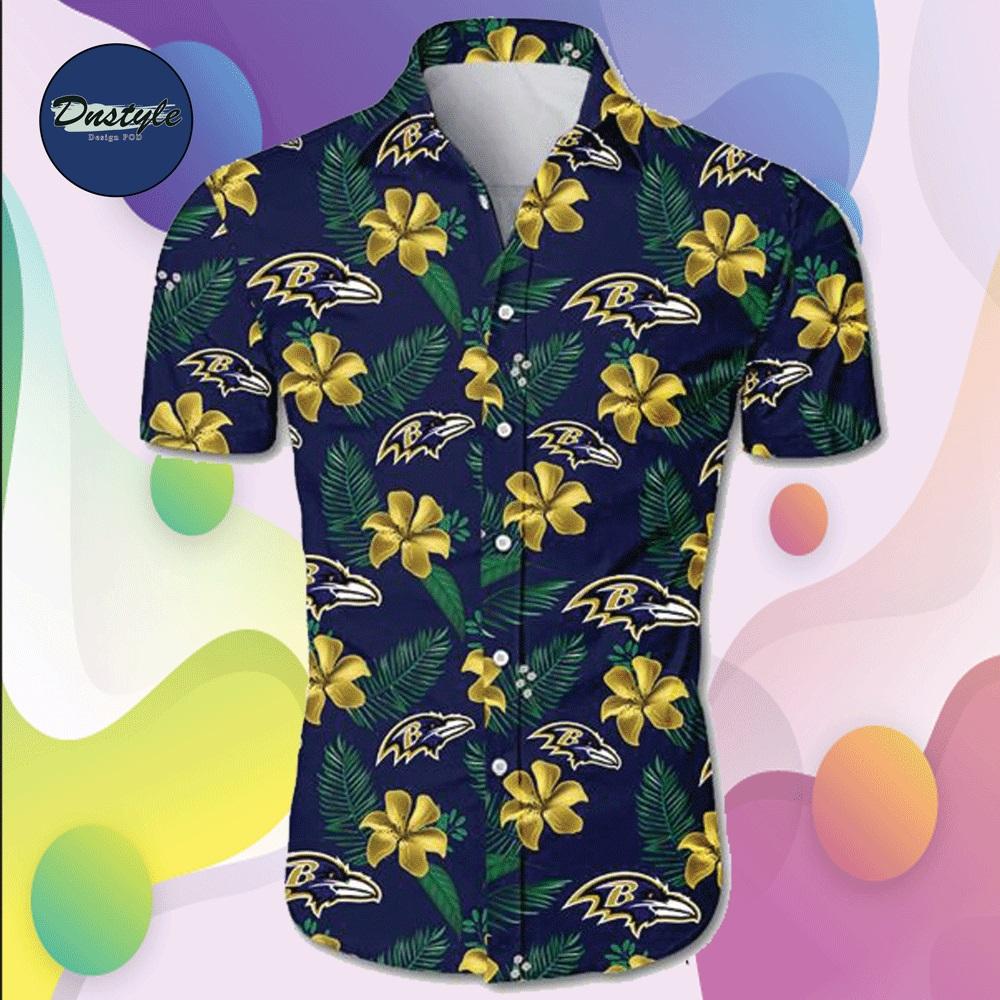Baltimore Ravens hawaiian shirt